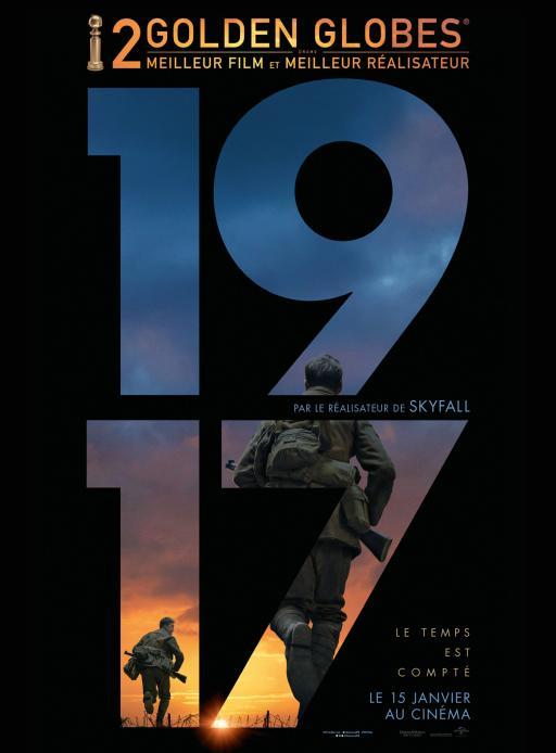 Affiche du film 1917 - actuellement en salle au cinéma Madiana