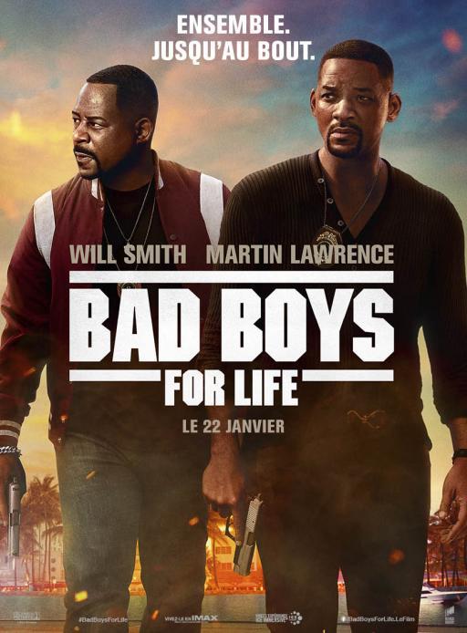 Affiche du film Bad Boys For Lif3 - actuellement en salle au cinéma Madiana