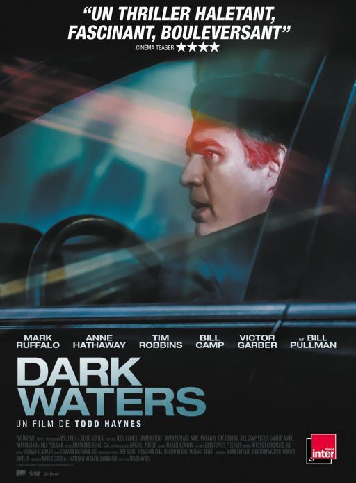 Affiche du film Dark Waters - actuellement en salle au cinéma Madiana