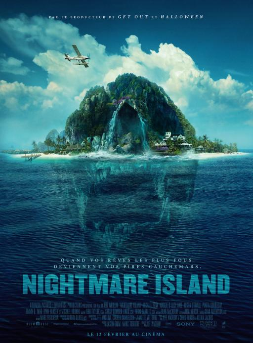 Affiche du film Nightmare Island - actuellement en salle au cinéma Madiana