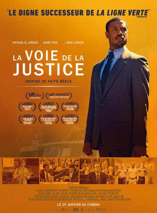 Affiche du film La Voie de la justice - actuellement en salle au cinéma Madiana