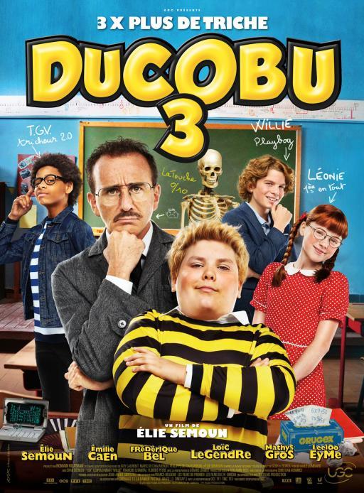Affiche du film Ducobu 3 - actuellement en salle au cinéma Madiana