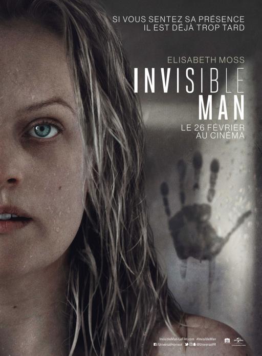 Affiche du film Invisible Man - actuellement en salle au cinéma Madiana