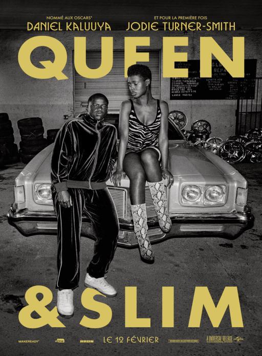 Affiche du film Queen & Slim - actuellement en salle au cinéma Madiana