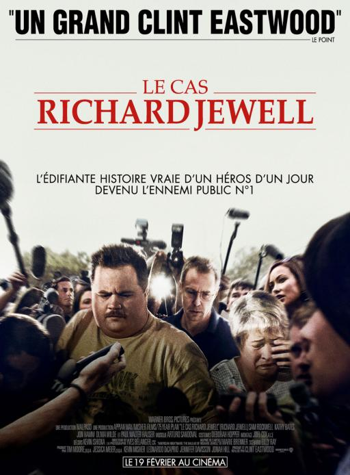 Affiche du film Le Cas Richard Jewell - actuellement en salle au cinéma Madiana