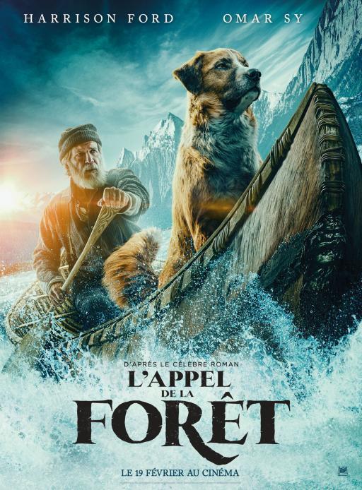 Affiche du film L'Appel de la forêt - actuellement en salle au cinéma Madiana